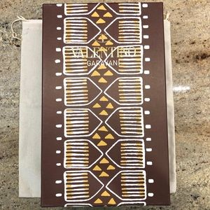 VALENTINO TRIBAL EMPTY BOX AND DUST BAG